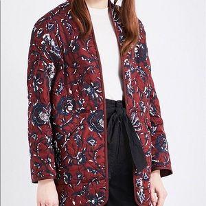 Isabel marant etoile printed daca jacket
